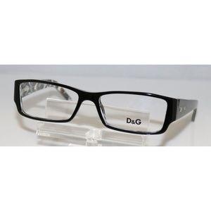 New Dolce & Gabbana Black Glasses